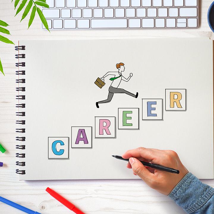 更なるキャリアアップを目指す